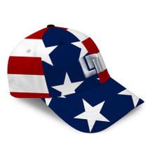 Loudmouth Golf Hat - Stars & Stripes All-Over Cap