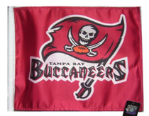 NFL Tampa Bay Buccaneers 11in x 15in Golf Cart or Car Flag