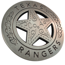 ReadyGolf - Texas Rangers Badge Ball Marker & Hat Clip
