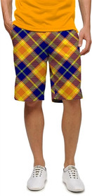 Loudmouth Golf Mens Shorts - Peanut Butter & Jelly