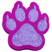 ReadyGolf - Cat Paw Print Pink Ball Marker & Hat Clip