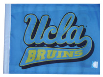 UCLA BRUINS 11in x 15in Golf Cart or Car Flag
