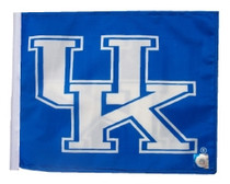 University of Kentucky 11in x 15in Golf Cart or Car Flag