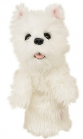 Daphne's HeadCovers: Westie Highland Terrier Dog Golf Club Cover