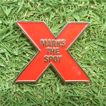 ReadyGolf - X Marks The Spot Ball Marker & Hat Clip