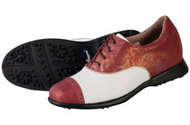 Sandbaggers Women's Golf Shoes: Audrey Cabernet