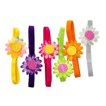 Small Headband Daisy Magnetic Ball Marker Holder by Goodie Girl Golf