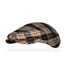 Golf Knickers: Men's Bayou 'Par 5' Limited Plaid Golf Knickers & Cap