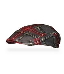Golf Knickers: Men's Highland 'Par 5' Limited Plaid Golf Knickers & Cap