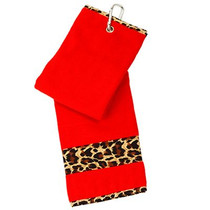 Glove It: Golf Bag Towel - Leopard