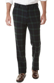 Castaway Clothing Men's Fancy Pants - Blackwatch Tartan (38UF) - SALE