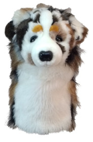 Daphne's HeadCovers: Australian Shephard Dog Golf Club Cover