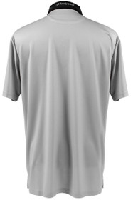 ReadyGOLF Naked Lady Golf Polo Shirt - Pole Dancer (Grey)