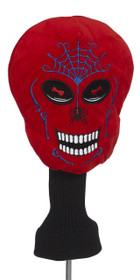 Red Skull Golf Headcover by Creative Covers