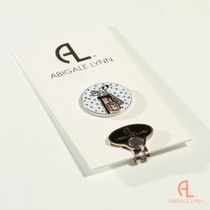 Abigale Lynn Ball Marker & Hat Clip - Golf Bag