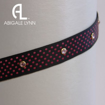 Abigale Lynn Visor Band - Raspberry Swiss
