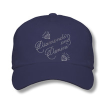 Titania Golf: Women's Cap - Diamonds And Denim