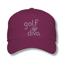 Titania Golf: Women's Cap - Golf Diva
