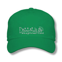 Titania Golf: Women's Cap - Diamonds Are A Girls Best Friend