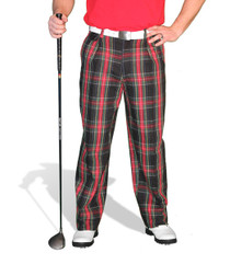 Golf Knickers: Men's 'Par 5' Cotton/Ramine Golf Trousers