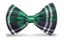 Golf Knickers: Men's 'Par 5' Cotton/Ramine Limited Plaid Bowtie