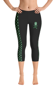 ReadyGOLF Womens Capri Leggings - Irish To The Bone