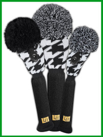 Loudmouth Oakmont Houndstooth Headcover Set