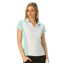 Nancy Lopez Golf: Ladies Short Sleeve Polo - Bee