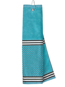 Just 4 Golf Headcovers: Turquoise Towel with Ribbon