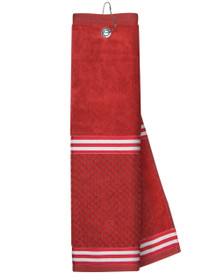 Just 4 Golf Headcovers: Red Towel with Ribbon