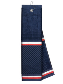 Just 4 Golf Headcovers: Navy Towel with Ribbon