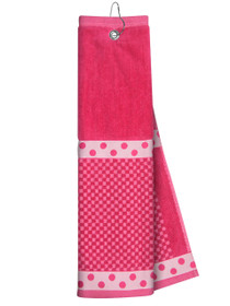 Just 4 Golf Headcovers: Pink Towel with Ribbon