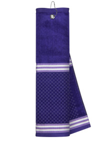 Just 4 Golf Headcovers: Purple Towel with Ribbon