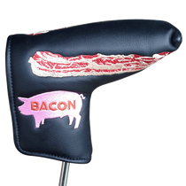 ReadyGolf Embroidered Putter Cover - Bacon