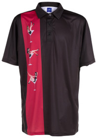 ReadyGOLF Mens Golf Polo Shirt - Martini Girls