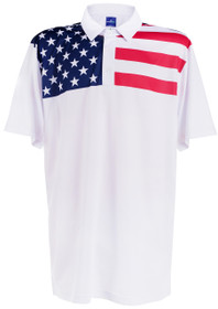 ReadyGOLF Mens Golf Polo Shirt - Living in America