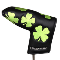 ReadyGolf Embroidered Putter Cover - Four Leaf Clover