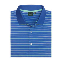 Fairway & Greene Men's Polo - Baker Stripe Lisle Polo