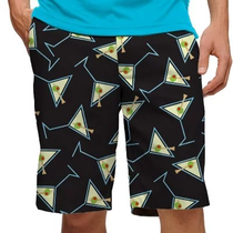 Loudmouth Golf Mens Shorts - Tee Many Martoonies StretchTech