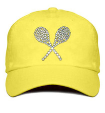 Titania Golf: Women's Cap - Tennis Raquets