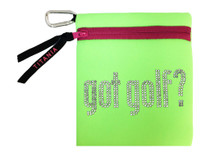 Titania Golf: Neon Carryall Bag - Got Golf?