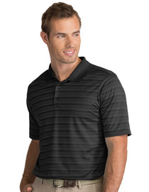 Antigua: Men's Performance Short Sleeve Polo - Liquid 104082 (Black/Carbon) XL - SALE