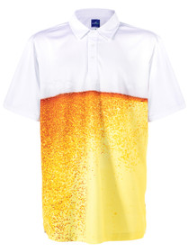 ReadyGolf Mens Golf Polo Shirt - Beer Belly