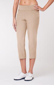 Tail Activewear Golf Essentials Collection - Womens Toffee Mulligan Capri (Size 8) - SALE
