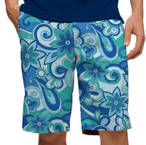 Loudmouth Golf Mens Shorts - Summer of Love StretchTech