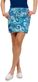 Loudmouth Golf Womens Skort - Summer of Love StretchTech