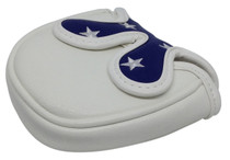 USA Flag Embroidered Putter Cover by ReadyGOLF - Mallet