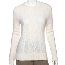 Fairway & Greene: Women's Cable Sweater - Hayes