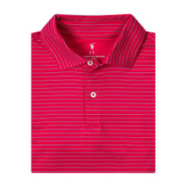 Fairway & Greene: Baker Stripe Jersey Polo