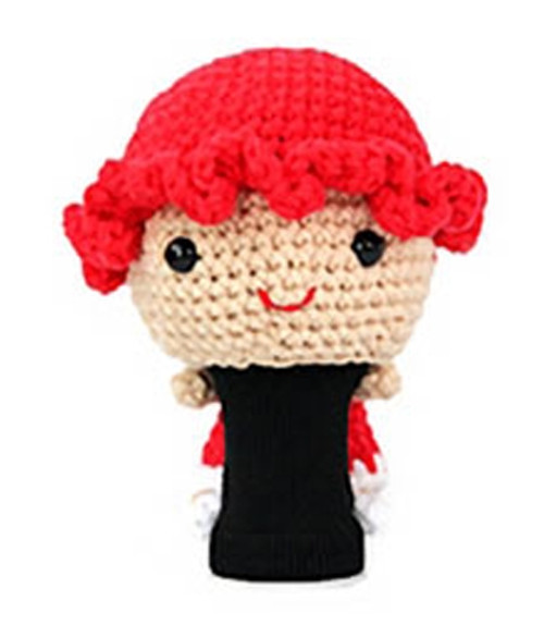 Amimono Animal Golf Driver Headcover - Girl with Red Hat (M308-A)